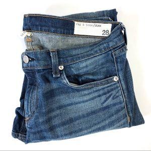 Rag & Bone The Dre Low-Rise Slim Boyfriend Jeans